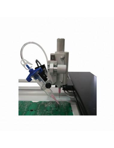 Dispensing head for SMD manipulator