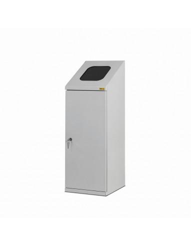 ESD odpadkový koš 120 litrů, šedý