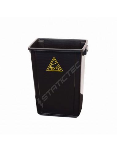 ESD odpadkový koš, 60 litrů