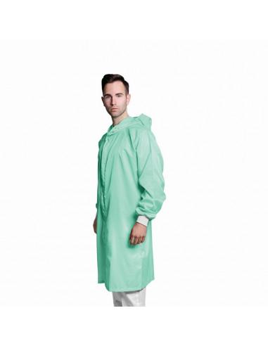 ESD plášť s kapucí CLEANROOM