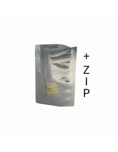 ESD stínící sáčky se zipem 356 x 457 mm, 76 um