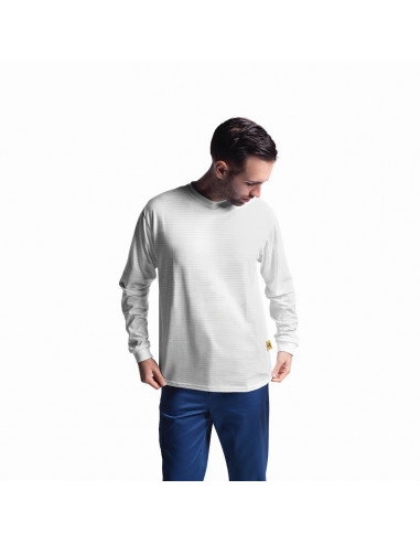 ESD tričko s dlouhým rukávem