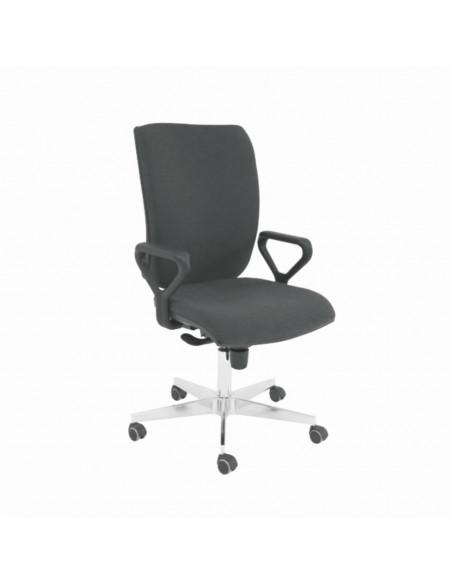 ESD židle Superior 1, výška sedáku 47 - 51cm, šedá
