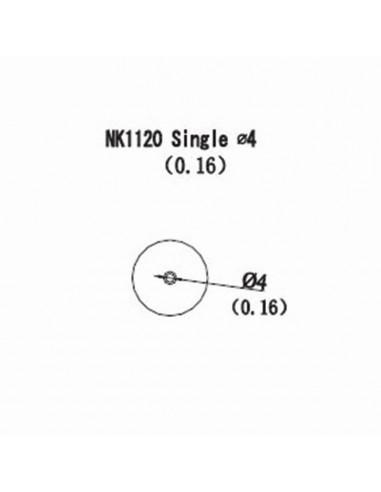 Horkovzdušná tryska NK1120 - 4mm