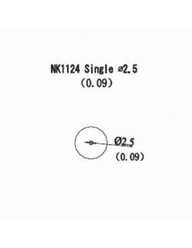 Horkovzdušná tryska NK1124 - 2,5mm