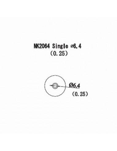 Horkovzdušná tryska NK2064 - 6,4mm