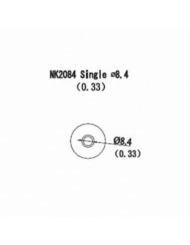 Horkovzdušná tryska NK2084 - 8,4mm