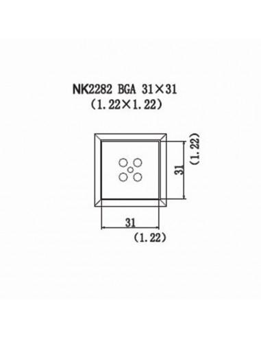 Horkovzdušná tryska NK2282 - BGA 31x31