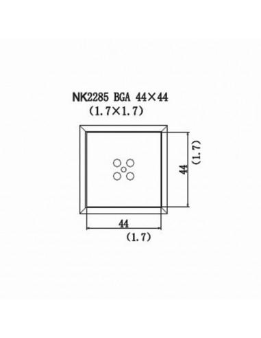 Horkovzdušná tryska NK2285 - BGA 44x44