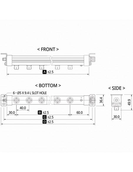 Ionizační tyč SIB1-208A
