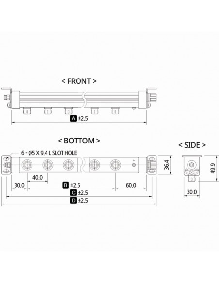 Ionizační tyč SIB1-96A