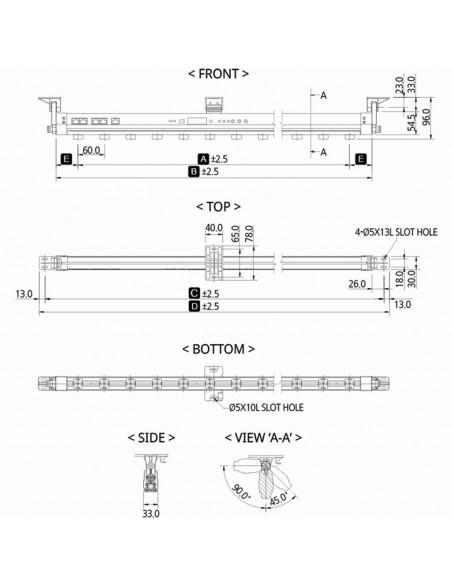Ionizační tyč SIB4-1000A