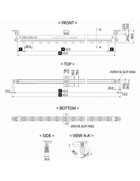 Ionizační tyč SIB4-1800