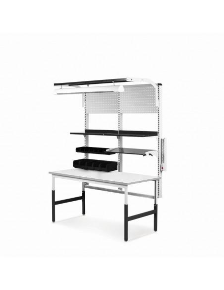 Konstrukce ESD stolu Classic 1530 x 750 mm