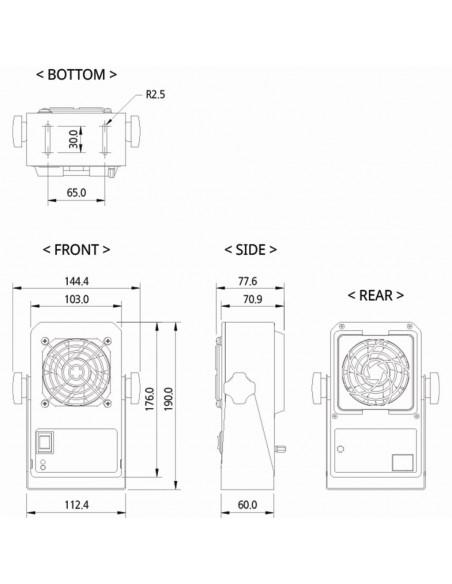 Mini stolní ionizátor SBL-18