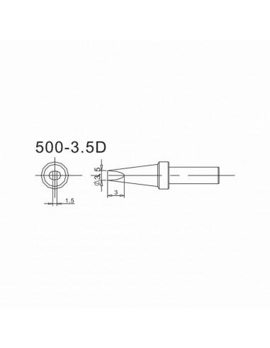 Pájecí hrot 500-3,5D