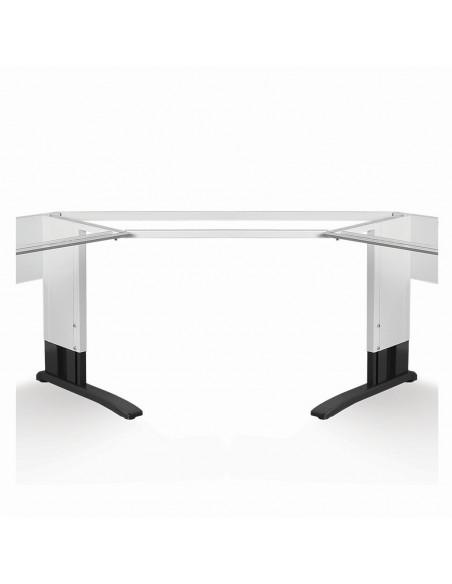 Rohový modul s deskou pro stoly Premium