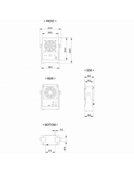 Stolní ionizátor SBL-15S