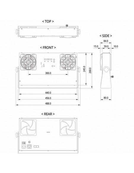 Velký stolní ionizátor SBL-20W